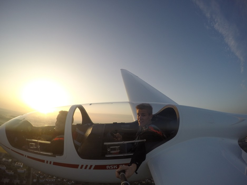 Blick ins Cockpit ASK21