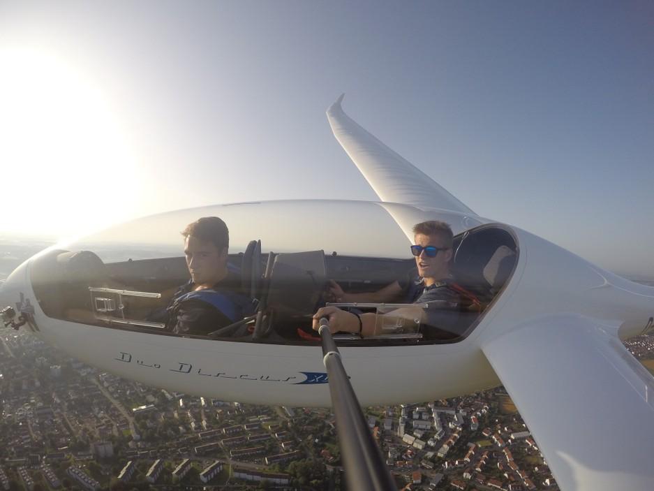 Blick ins Cockpit DuoDiscus XL
