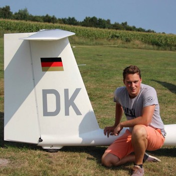 DK-Profilbild, LS-8, Segelflug Luftsportverein Biberach