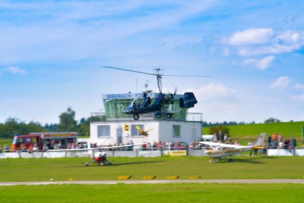 Flugtag 2017 Segelflug Biberach Gyrokopter