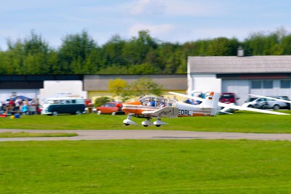 Flugtag 2017 Segelflug Biberach Remo Landung