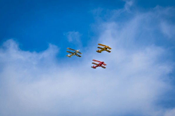 Flugtag 2017 Segelflug Biberach Doppeldecker