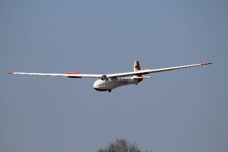 KA8 Segelflug Biberach