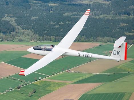LS8a Segelflug Biberach