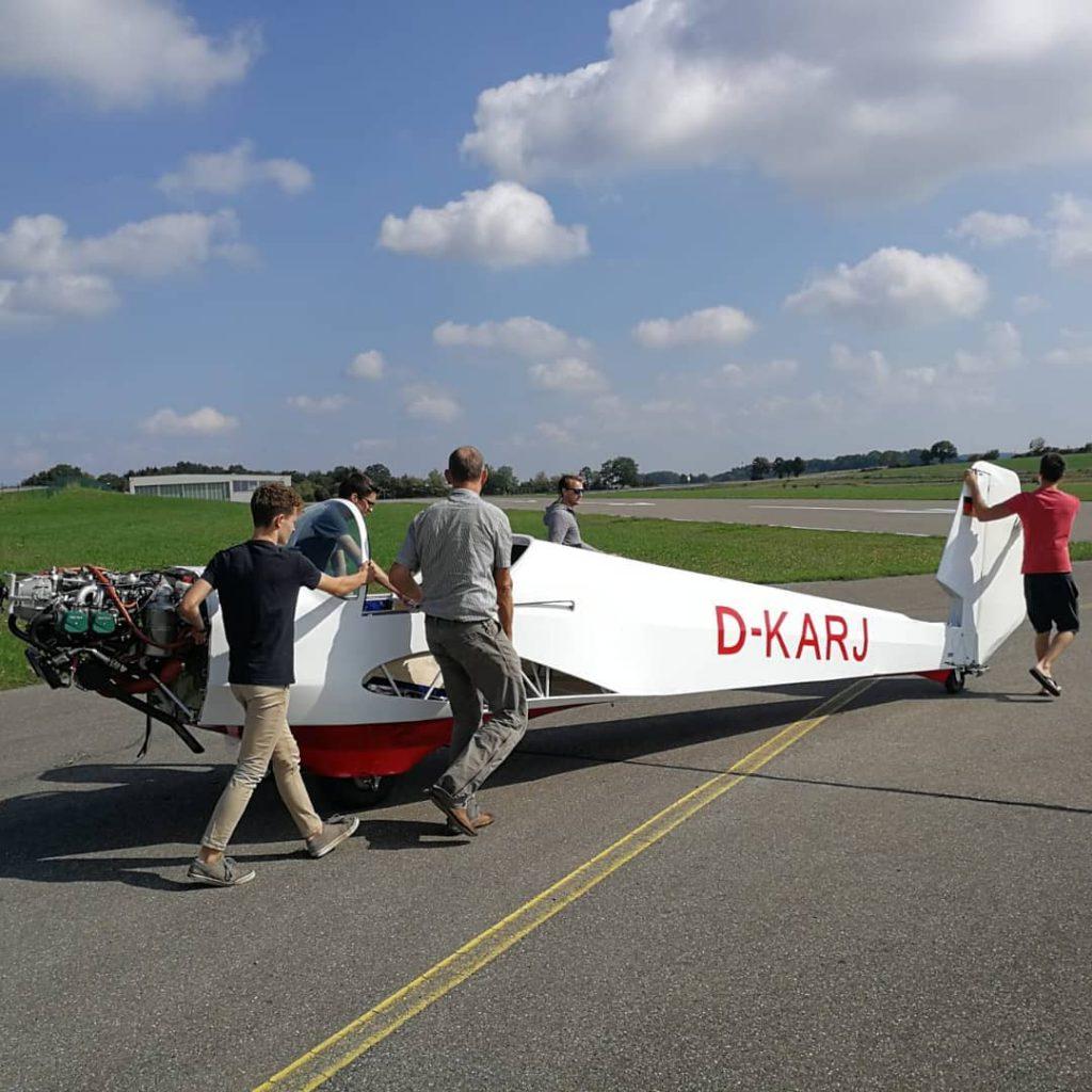 Samburo Rumpf Segelflug Biberach