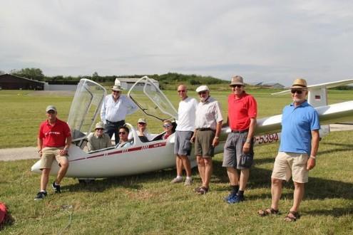 Fluglager Straubinger Fliegergruppe in Biberach